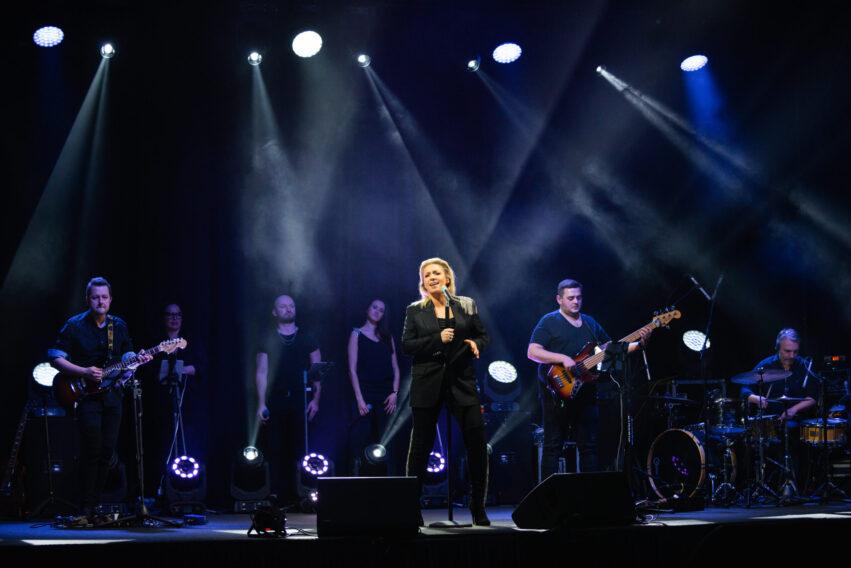 Kasia Cerekwicka w Radio Lublin